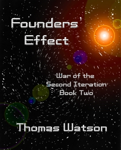 Founders' Effect ebook cover Nook